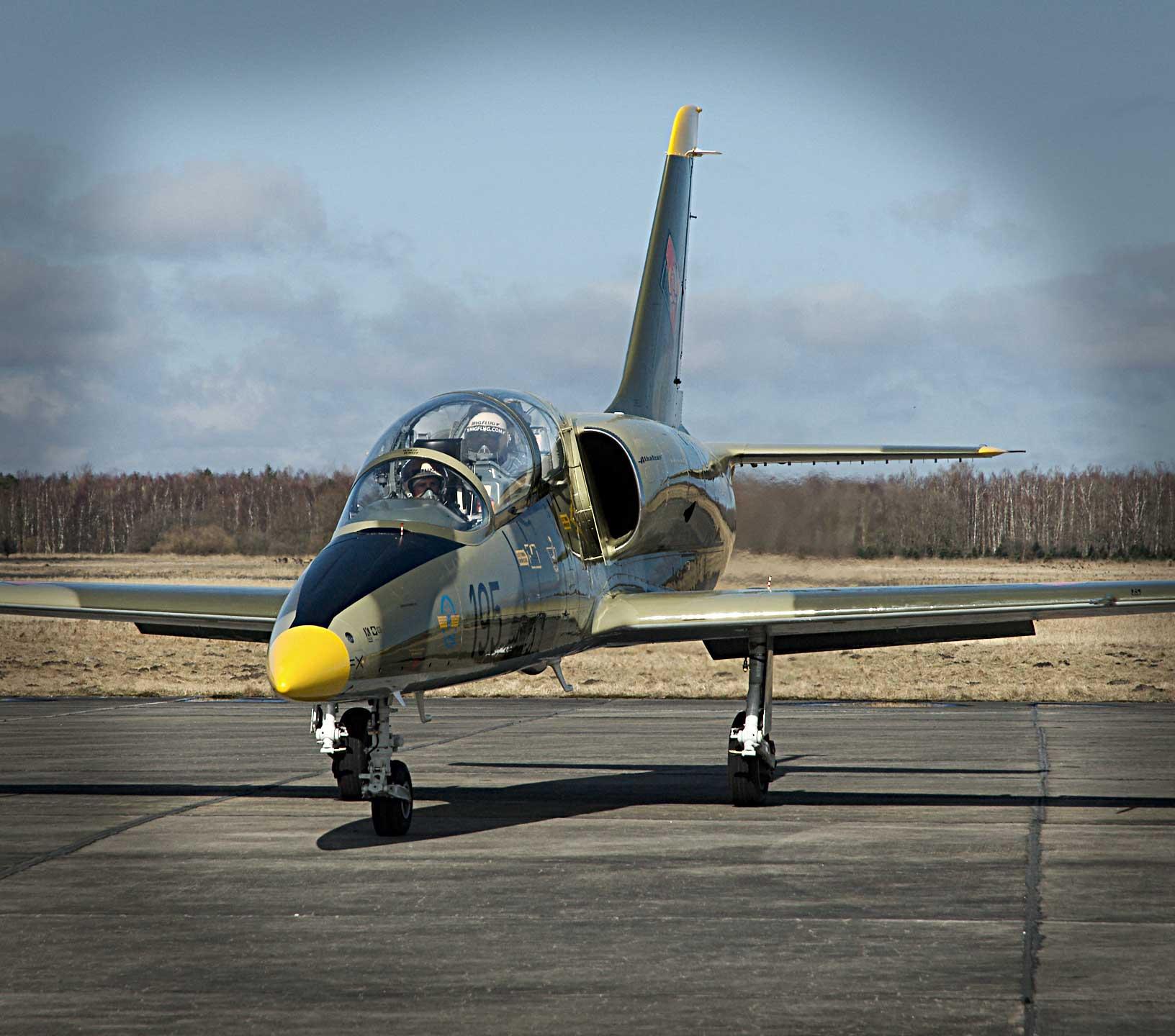 L-39 Albatros Jet Fighter Jet Ride Along in the L-39 Albatros