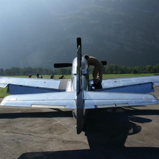 P-51 Mustang Mollis Switzerland