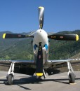 P-51 Mustang flight Switzerland
