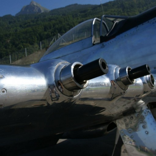 P-51 Mustang cannon