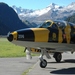 Hawker Hunter Flight Switzerland