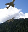 Hunter Jet Flight Switzerland