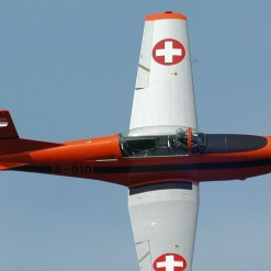 PC-7 flight