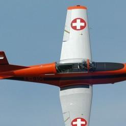 PC-7 flight
