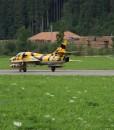 Hawker Hunter Break parachute